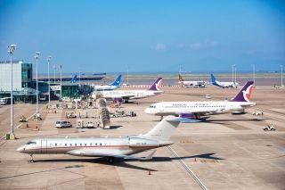 由于長榮航空空服員罷工 6月22日澳門機場取消12個航班
