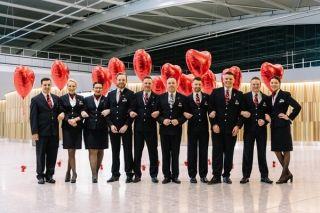 看!这家航空公司这样庆祝情人节