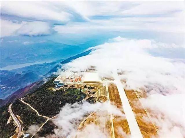 巫山机场通航进入倒计时  游客可坐飞机去赏红叶