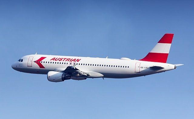 民航早報:奧地利航空推出復古涂裝A320