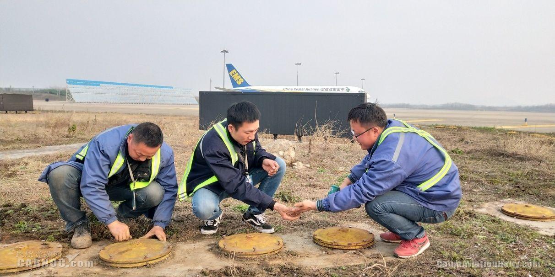 邮航南京分公司地面保障场务分部做好换季检修工作