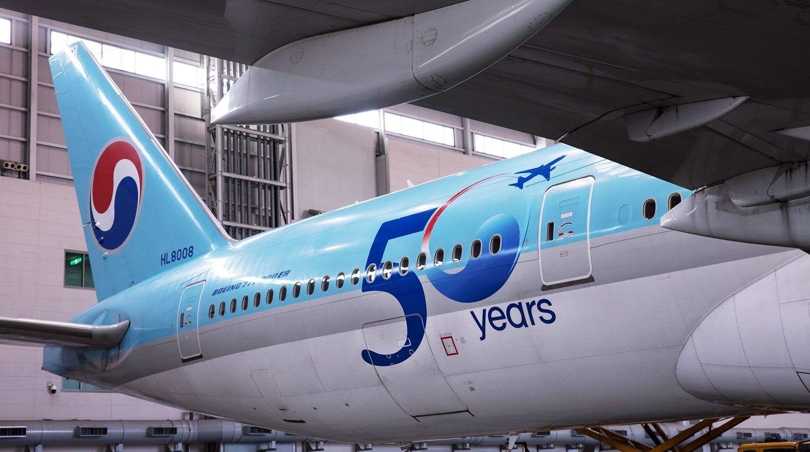 大韩航空50周年,将持续深耕中国市场