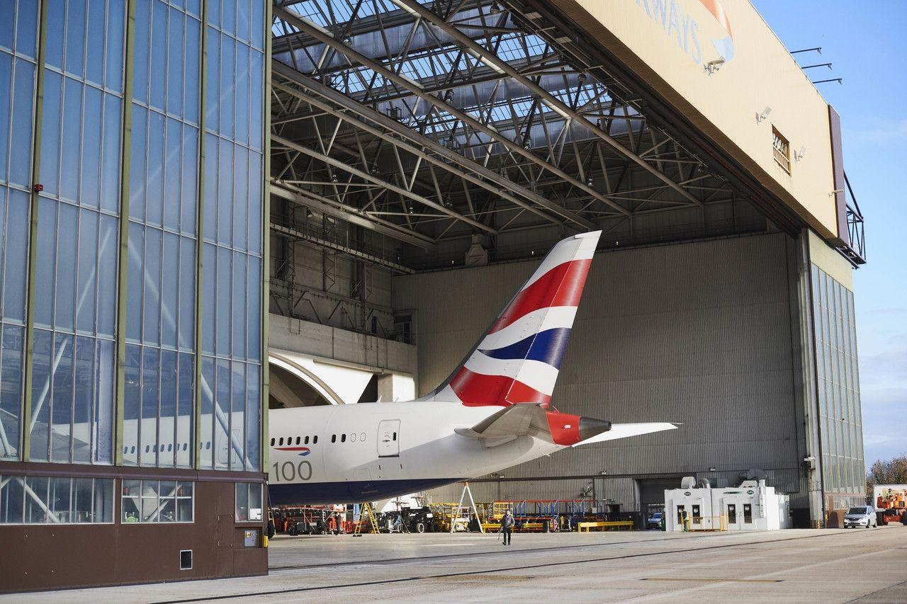 英国航空100周年广告片 摄影:官网
