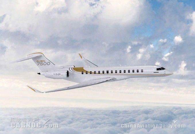 香港丽翔公务航空新增四架庞巴迪环球7500订单