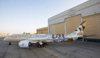 阿提哈德航空推出2019阿布扎比特奥会特别涂装