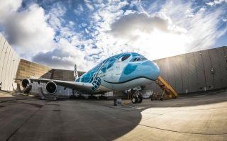 视频 全日空航空A380首飞