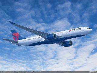 达美航空新一代A330-900neo将执飞上海-西雅图航线