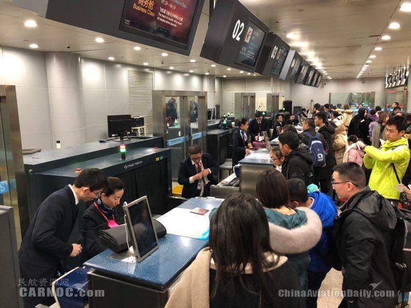 东航浙江分公司圆满完成2019年春运保障任务