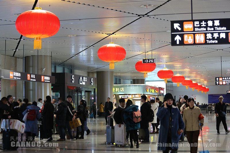 哈尔滨机场春运运送旅客255万人次 同比增5%
