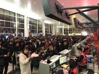 温州龙湾机场春运旅客吞吐量165万人次