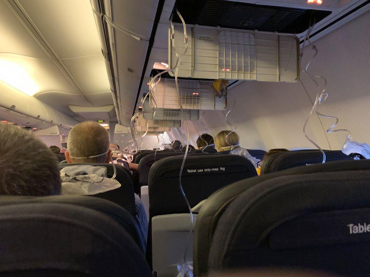 澳航客机客舱失压氧气面罩掉落 实施紧急降落