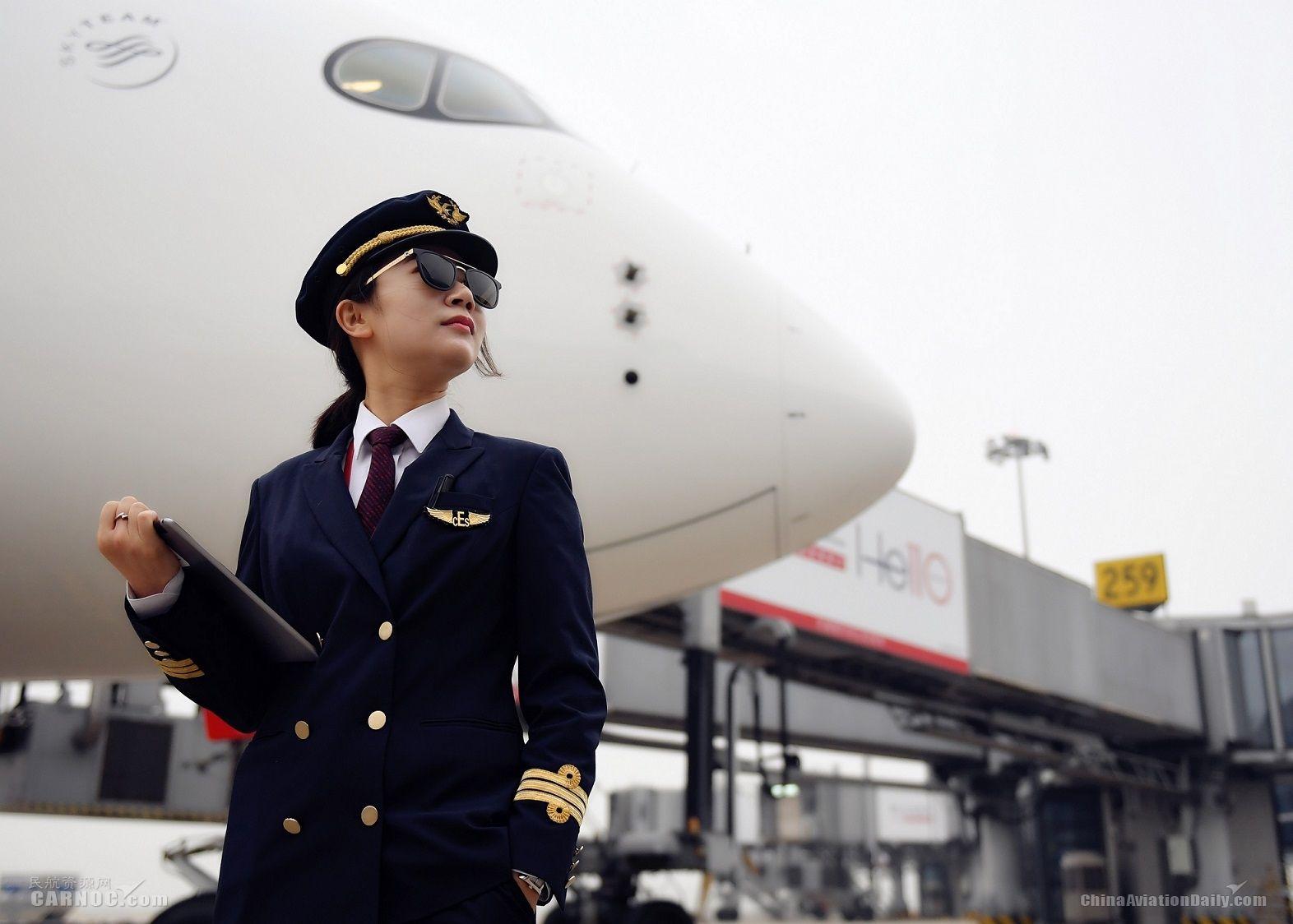 东航A350飞行员:从文科女到空客飞行员的华丽转变