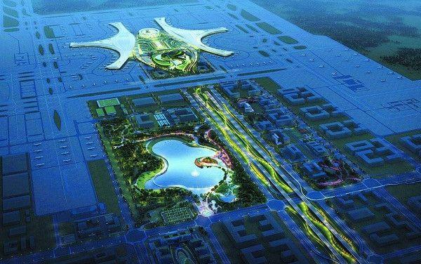 成都天府国际机场3D立体模型首次亮相