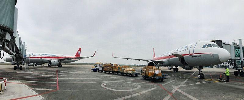 海产品舞台,北海机场2月运输货邮565吨
