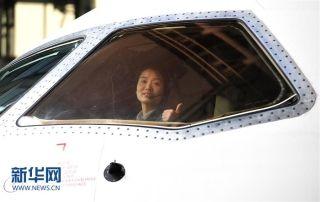图集:逐梦蓝天的女子试飞员