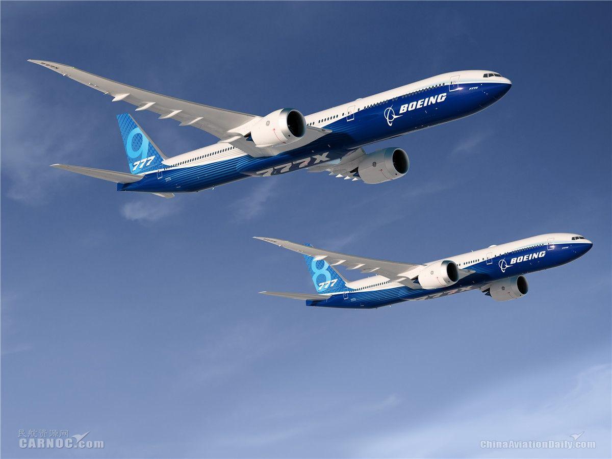 民航早报:阿联酋航空称777X推迟交付影响其机队增长
