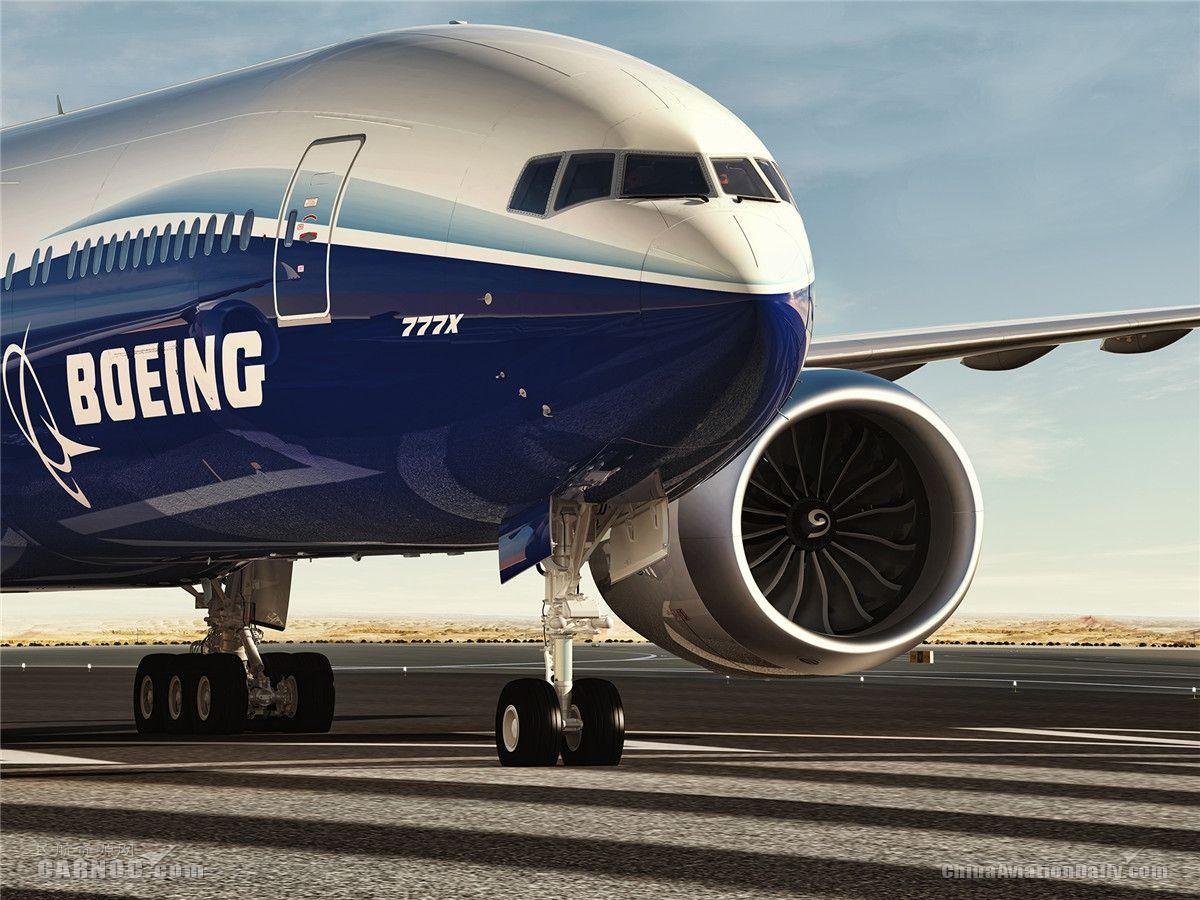 民航早报:波音777X飞机计划6月底首飞