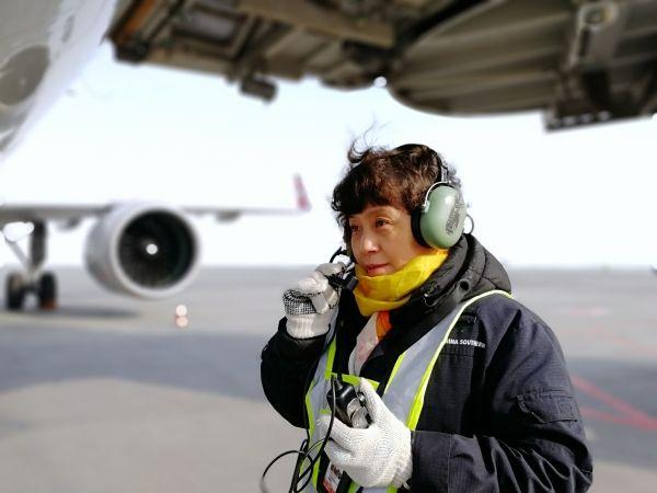 新疆维修基地机务杨继红:我觉得我的状态挺好的