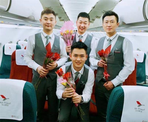 幸福如蜜 花香满舱 红土航空女王节机上主题活动