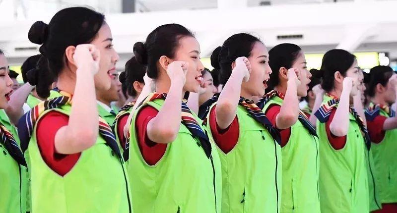 服务之星案例:白云机场春风服务志愿队
