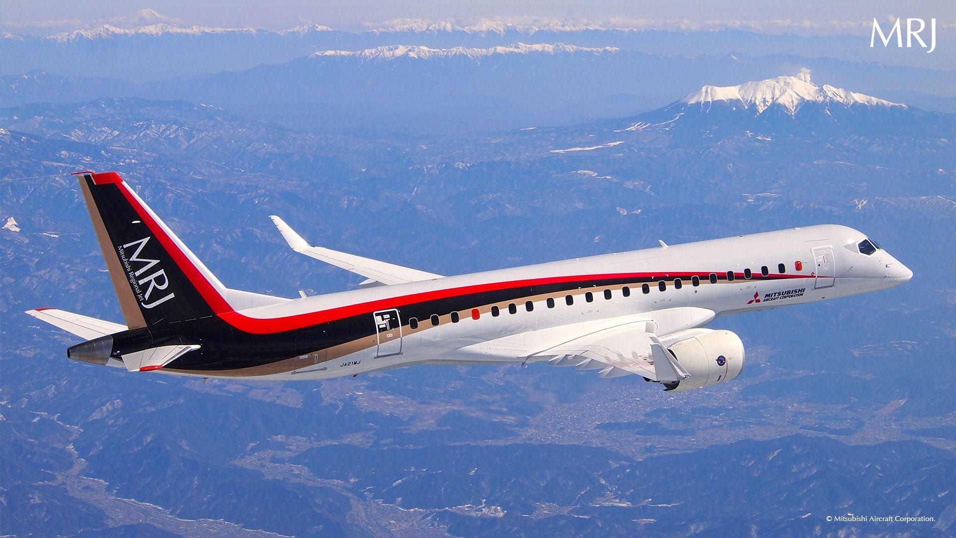 日本MRJ90支线客机验证飞行进展顺利