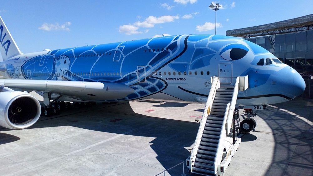 民航早报:全日空航空接收其首架空客A380