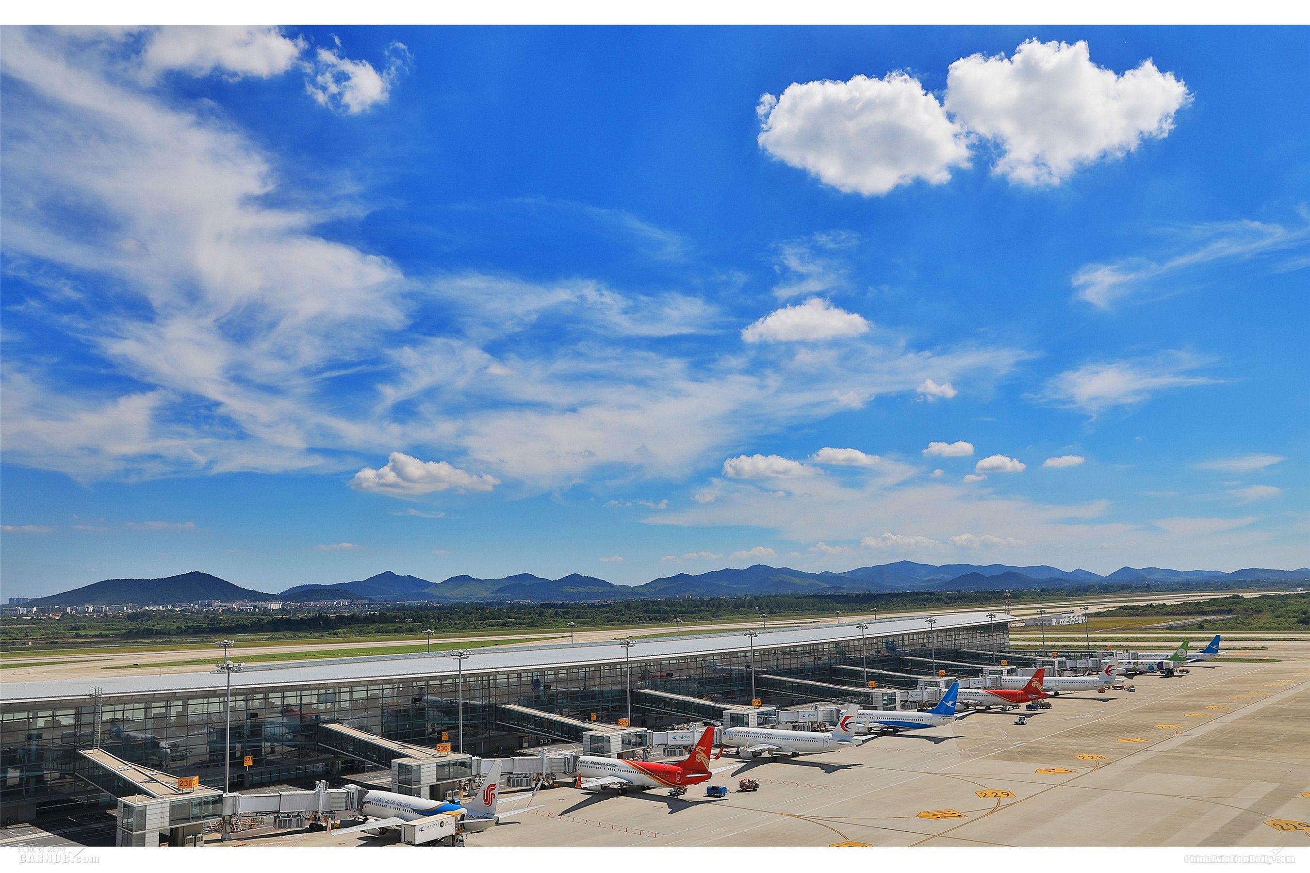 """南京禄口机场新航季200多条航线让您""""想飞就飞"""""""