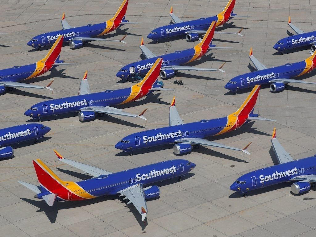 民航早報:737MAX停飛致西南航空停止紐瓦克航線