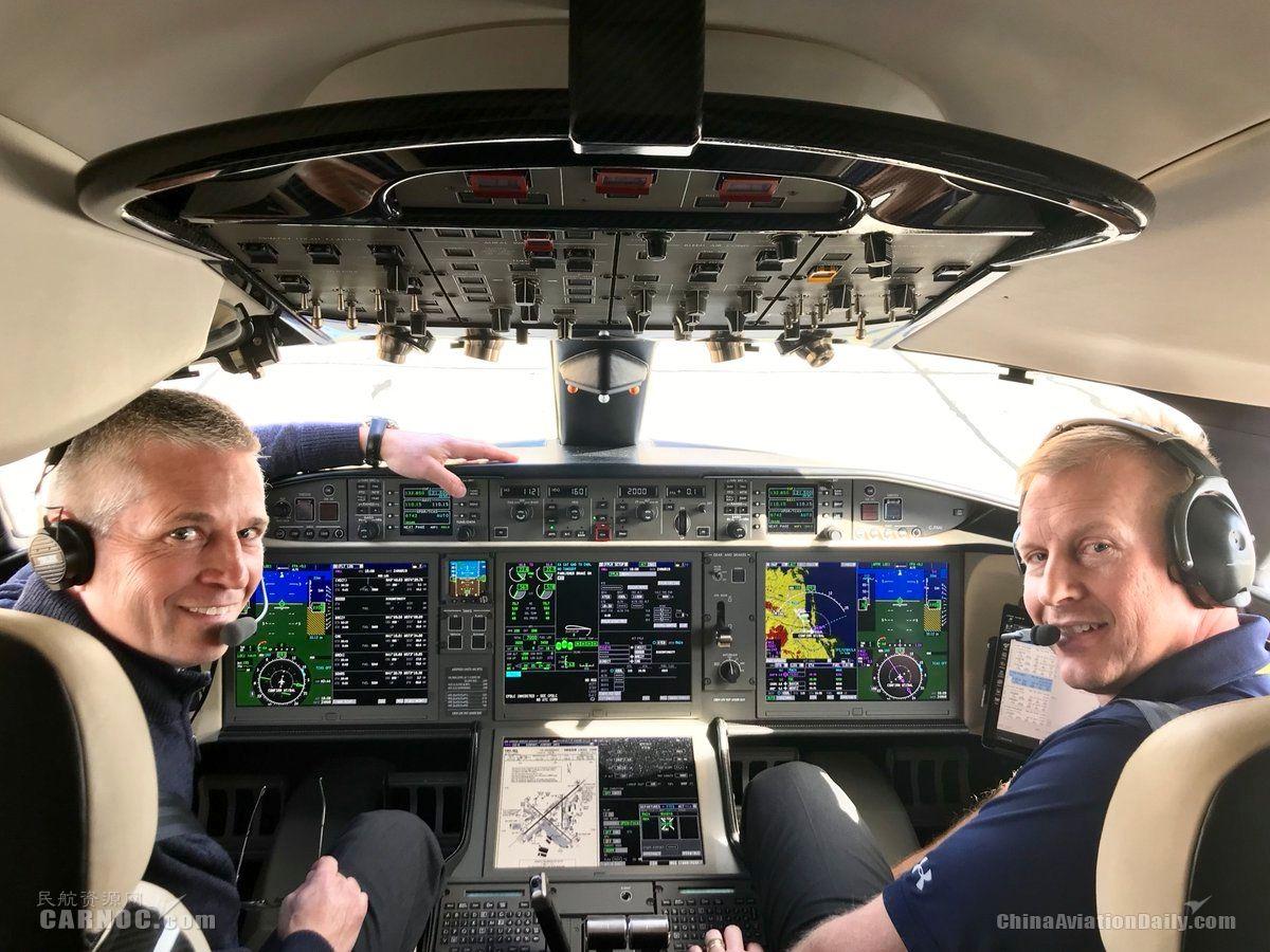 3小时54分横穿北美大陆 庞巴迪刷新公务机飞行速度纪录