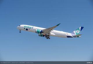 西班牙Evelop航空接收其首架空客A350XWB宽体飞机