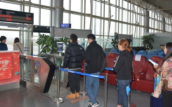 """黄山机场进入""""刷脸""""登机时代"""