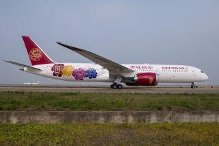 全新梦幻宽体客机入列 吉祥航空机队规模增至72架