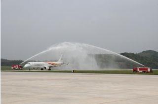 梧州機場新航季開通貴陽—梧州—重慶航線