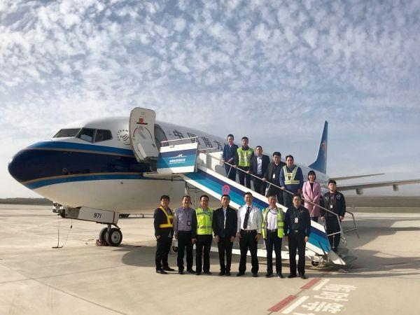 吐魯番機場北側飛行程序實地驗證試飛圓滿成功