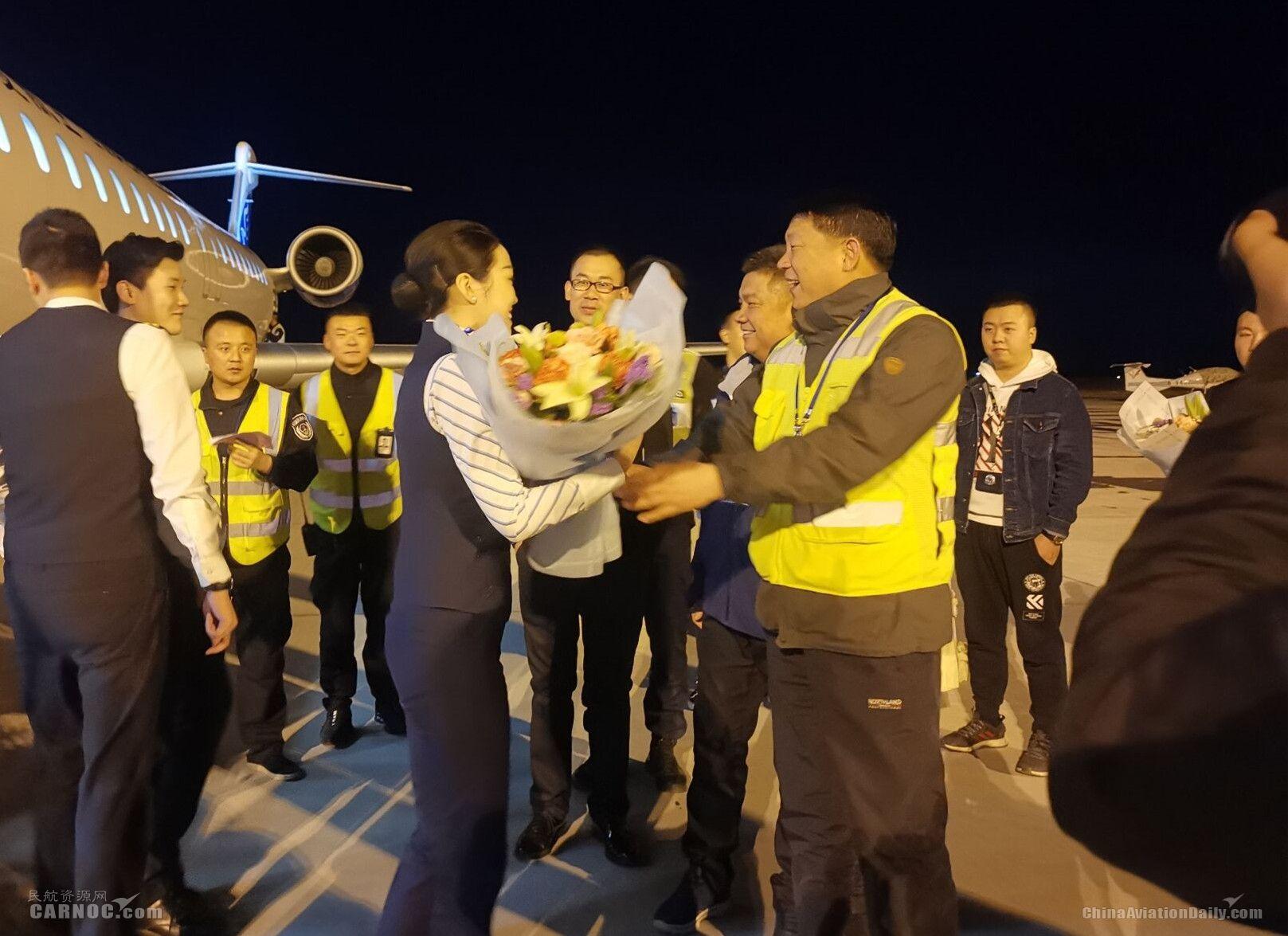 富蕴机场新增至克拉玛依、库尔勒两条航线