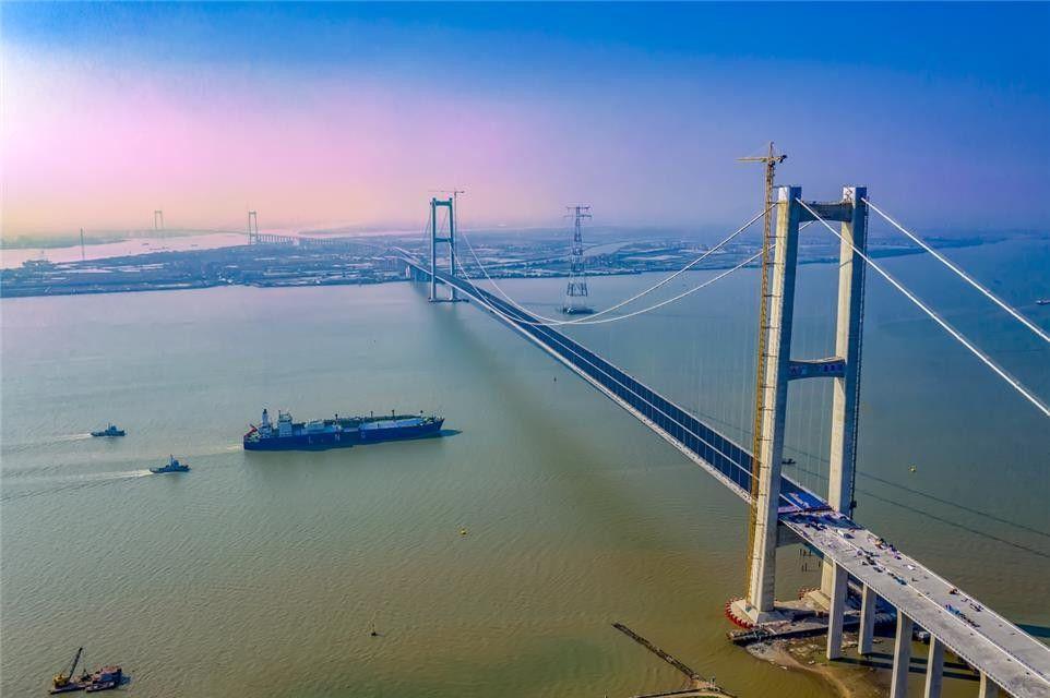 南沙大桥今日通车 粤港澳大湾区快速交通网加快形成