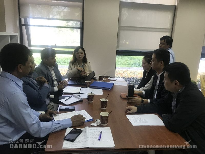 西南空管局飛服中心協助靛藍航空在中國首開航線