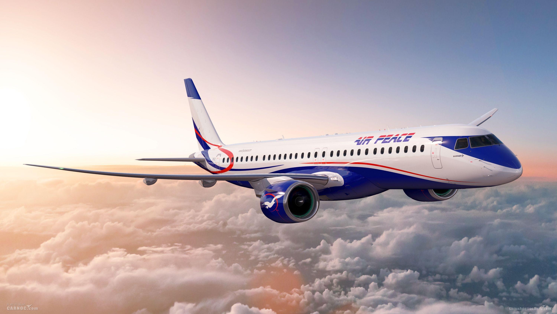 和平航空订购巴航工业E195-E2,成非洲地区E2启动客户