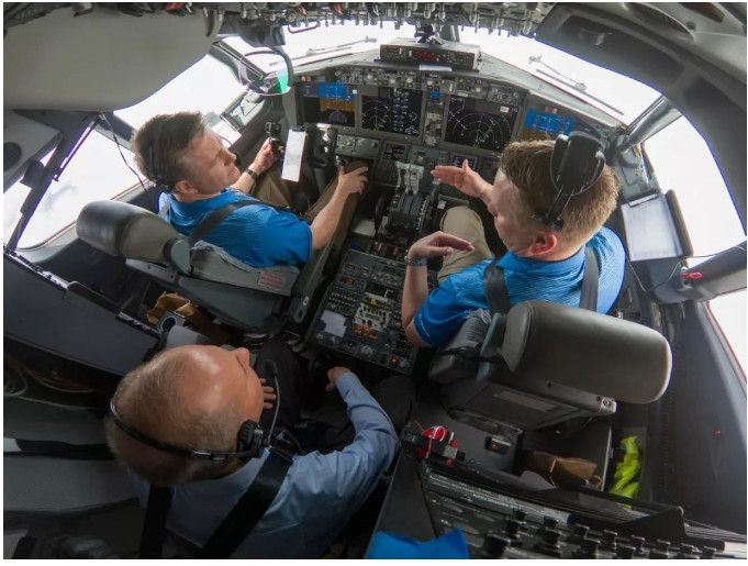 波音CEO參加737 MAX軟件升級驗證飛行