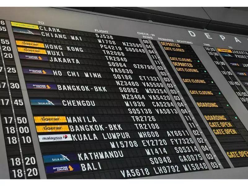 樟宜機場各航空公司分布大全(2019最新版)