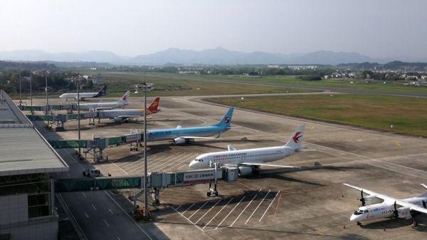 清明假期,黄山机场旅客吞吐量同比增长超两成