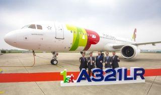 葡萄牙航空接收其首架空客A321LR飞机