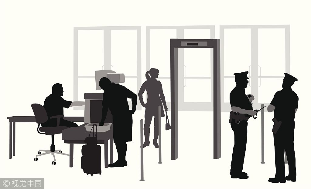 民航安檢安保周報: 美25%機場安檢員不滿半年辭職