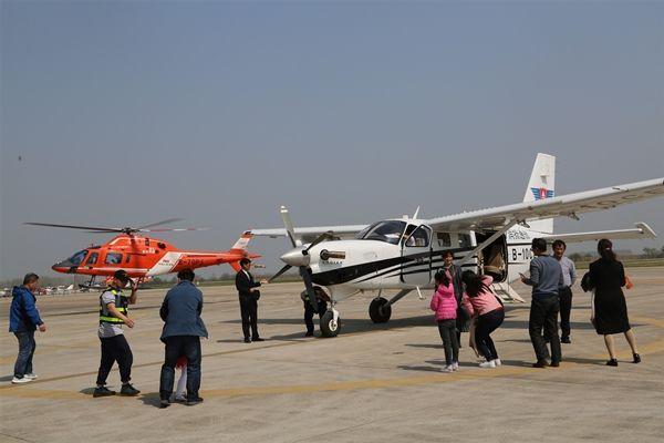 航空+旅游新体验!镇江第三届航空体验节成功举办