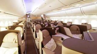 """原生版海航""""梦之羽""""787-9客机首航飞行深度体验"""