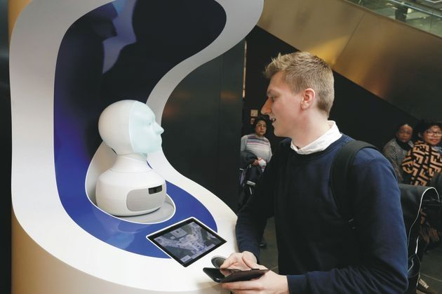 AI机器人现身法兰克福机场 进行为期6周测试