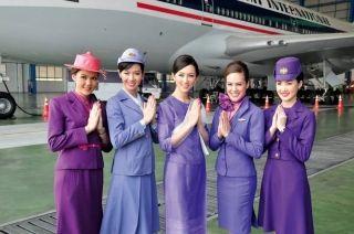 泰美丽!如此古老的泰航空乘制服你见过吗?