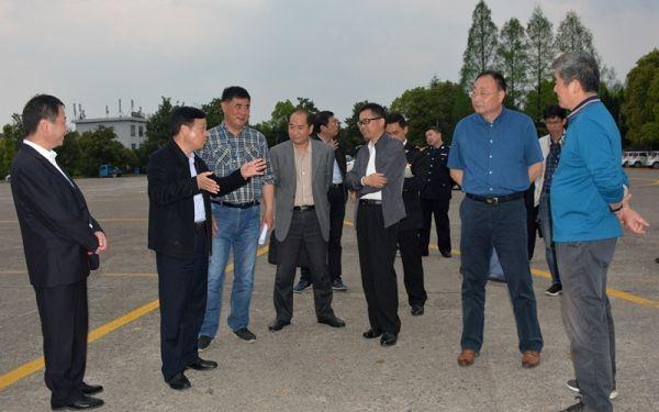 黄山市副市长一行到黄山机场调研航空口岸相关工作