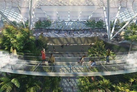 天悬桥 图片来源:樟宜机场