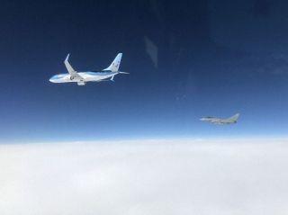 德国一架客机与地面失联 引发北约战机紧急拦截